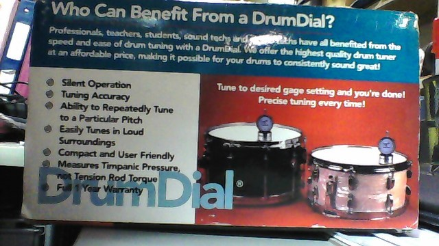 DRUMDIAL Other Format NMN