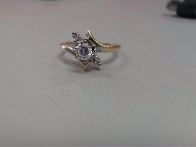 Gent's Diamond Fashion Ring 7 Diamonds .64 Carat T.W. 14K Yellow Gold 2dwt