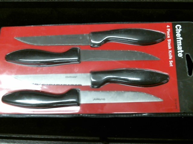 CHEFMATE Kitchen Knife 4 PC STEAK KNIFE SET