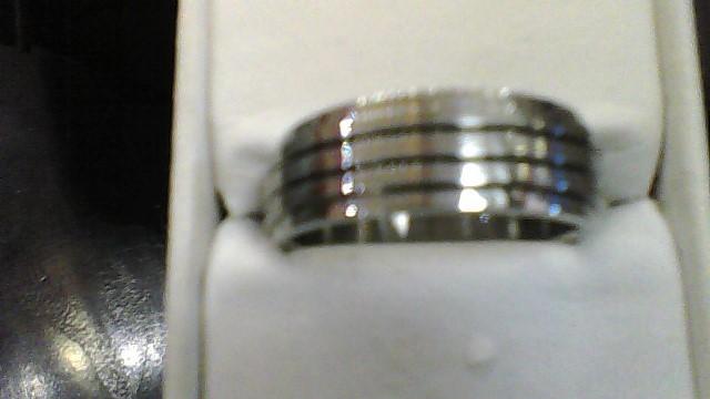 Gent's Ring Silver Titanium 8.52g