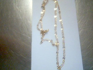"""17"""" Gold Link Chain Yellow Gold Filled 3.5g"""