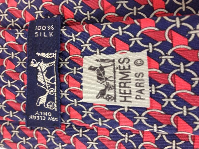 HERMÈS 7112 FA SILK TIE