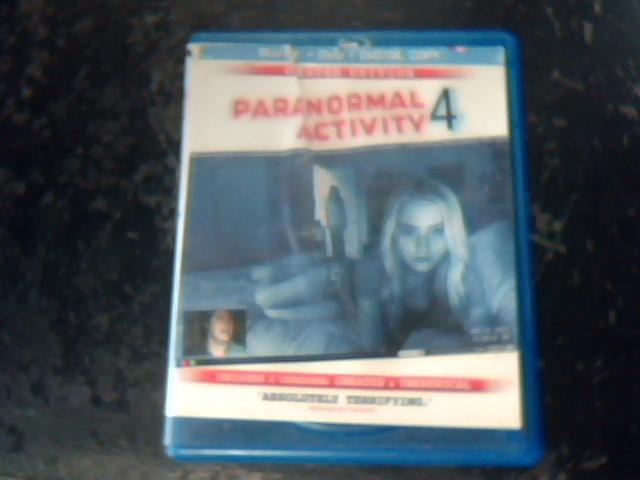 BLU-RAY MOVIE Blu-Ray PARANORMAL ACTIVITY 4
