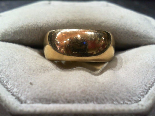 Lady's Gold Ring 14K Yellow Gold 8.2g Size:6.5