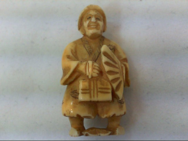 IVORY MAN STATUE carving