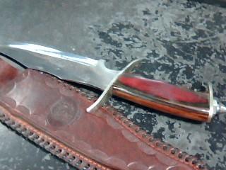 CHIPAWAY KNIFE Hunting Knife CUTLERY PAKISTAN MADE KNIFE W/ ORIGINAL SHEATH