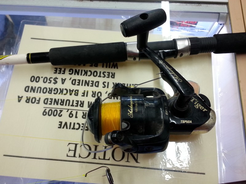 SHAKESPEARE FISHING Fishing Reel TSP50A