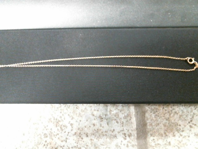 Gold Chain 10K Yellow Gold 1.6g