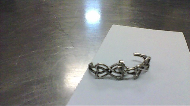 Silver-Diamond Earrings 70 Diamonds .420 Carat T.W. 925 Silver 3.3g