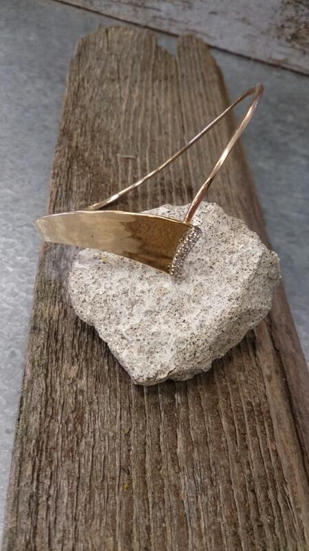 14K Yellow Gold Diamond Bracelet 11.7g