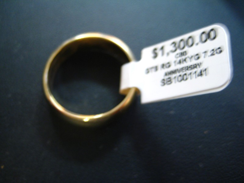 Gent's Gold Ring 14K Yellow Gold 7.2g