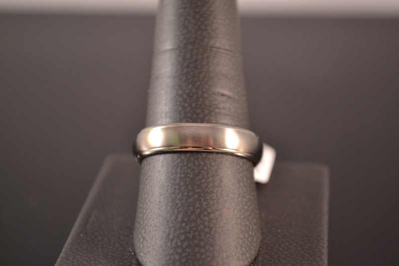 Gent's Ring Silver Stainless 2.4g