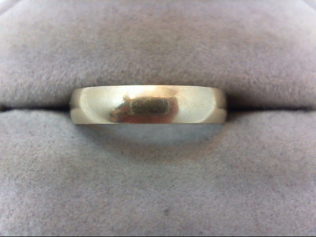 Lady's Gold Wedding Band 10K Yellow Gold 2.1g Size:8