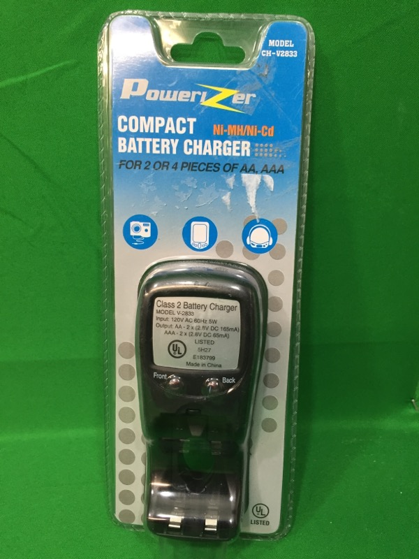 POWERIZER Battery/Charger CH-V2833
