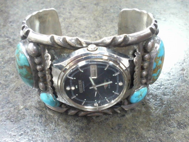 Turquoise Silver-Stone Misc. 925 Silver 121.27dwt