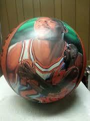 MICHAEL JORDAN Sports Memorabilia LIMITED EDITION WILSON BASKETBALL