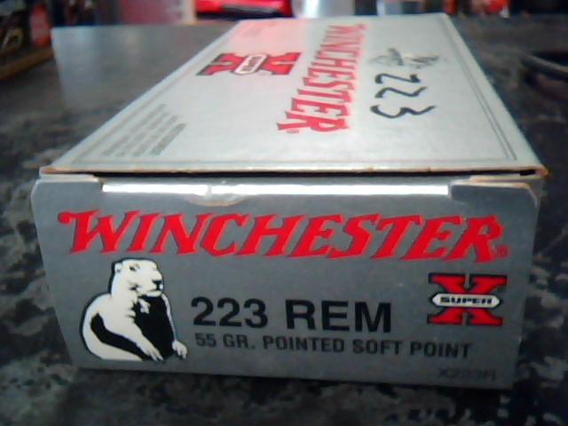 WINCHESTER Ammunition X223R