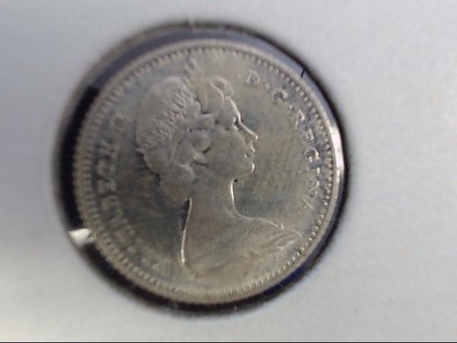 CANADA Silver Coin 10 CENTS 1867-1967
