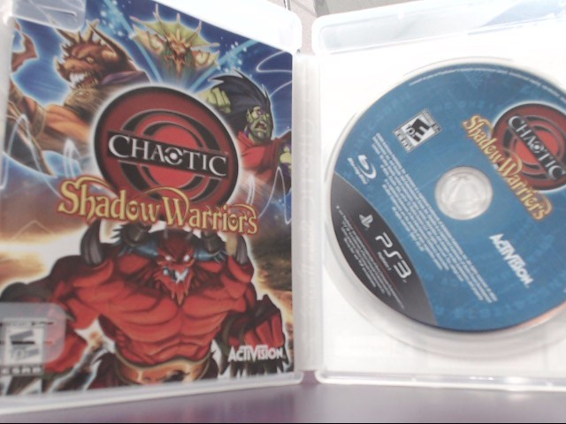 Chaotic: Shadow Warriors (Sony PlayStation 3, 2009)