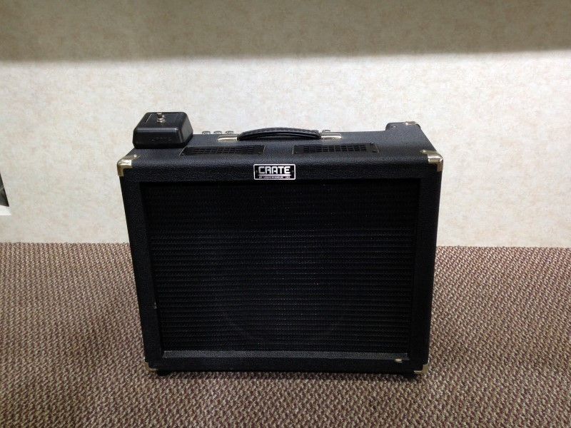 crate electric guitar amp vc 3112 vintage club series as is parts buya. Black Bedroom Furniture Sets. Home Design Ideas