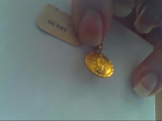 Gold Pendant 14K Yellow Gold 1.5g