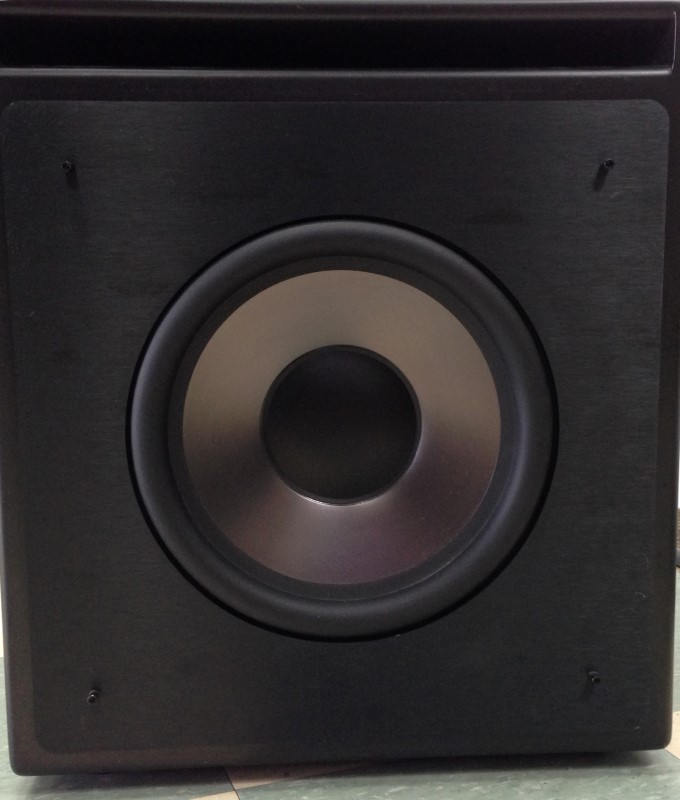 klipsch subwoofer kw 120 thx good buya. Black Bedroom Furniture Sets. Home Design Ideas