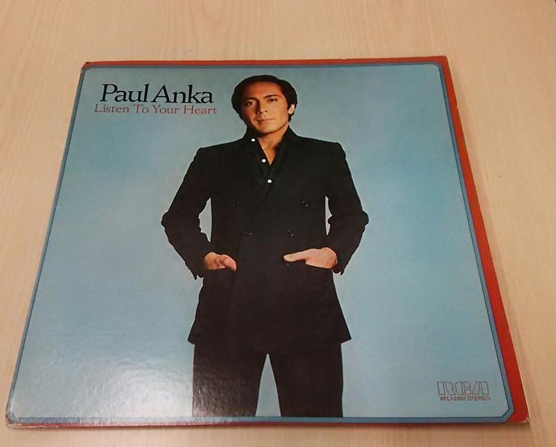 Paul Anka Listen To Your Heart Vinyl Record