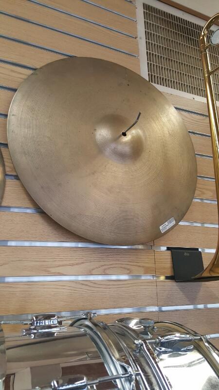 """ZILDJIAN Cymbal 21"""" ROCK RIDE"""