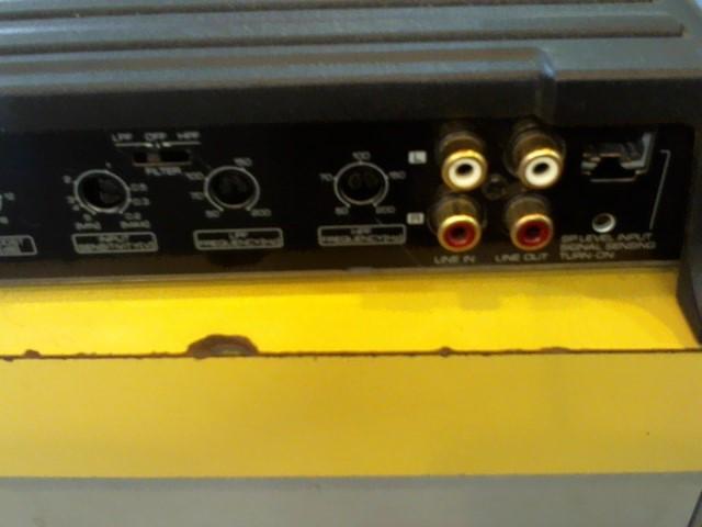 KENWOOD Car Amplifier KDC-7204