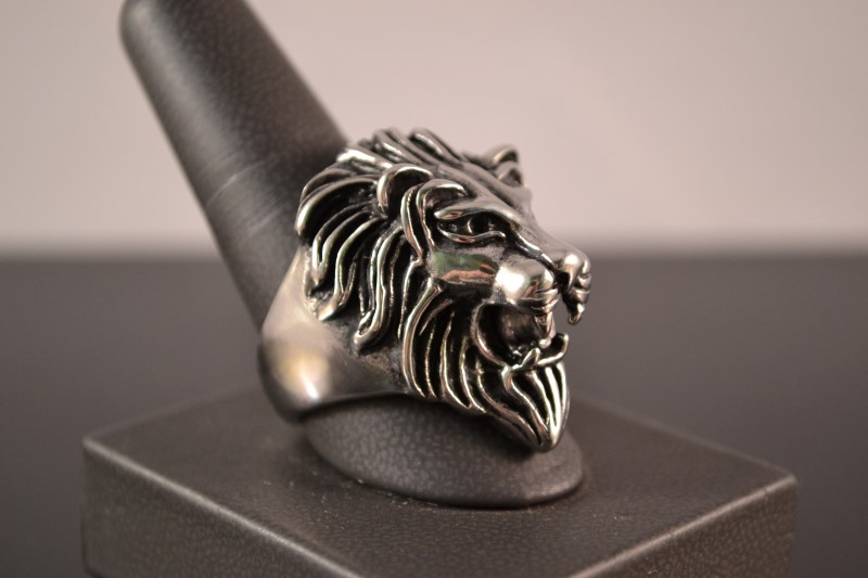 Gent's Ring Silver Stainless 25.4g