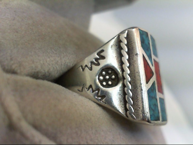 Gent's Silver Ring 925 Silver 15.2g