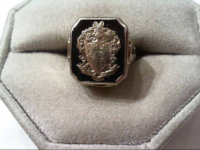 Lady's Gold Ring 18K White Gold 5.6g