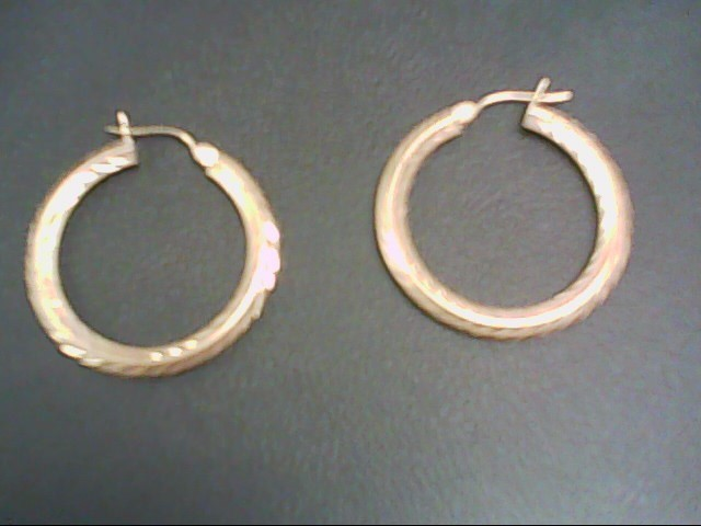 Gold Earrings 14K Yellow Gold 2.2g