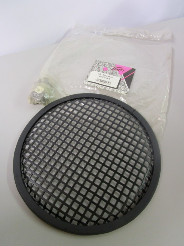 """PEAVEY 10"""" SPEAKER GRILL KIT WITH MOUNTING SCREWS, BRAND NEW"""