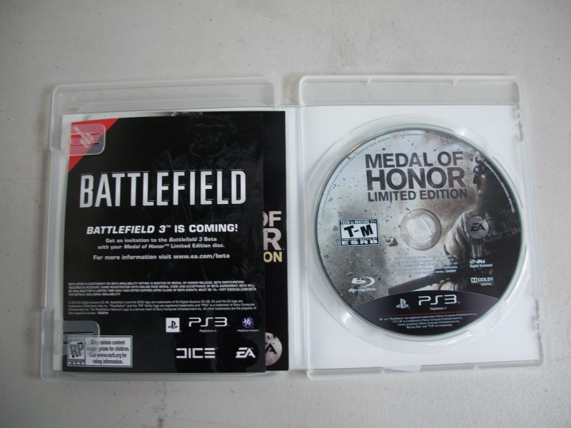 SONY Sony PlayStation 3 MEDAL OF HONOR LIMITED EDITION