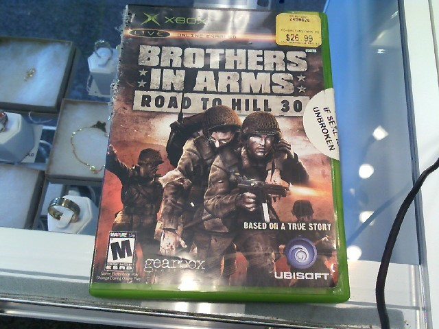 XBOX BROTHERS IN ARMS: ROAD TO HILL 30 Video Game