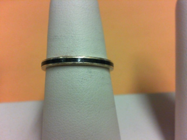 Lady's Gold Ring 14K Yellow Gold 1.8g Size:7