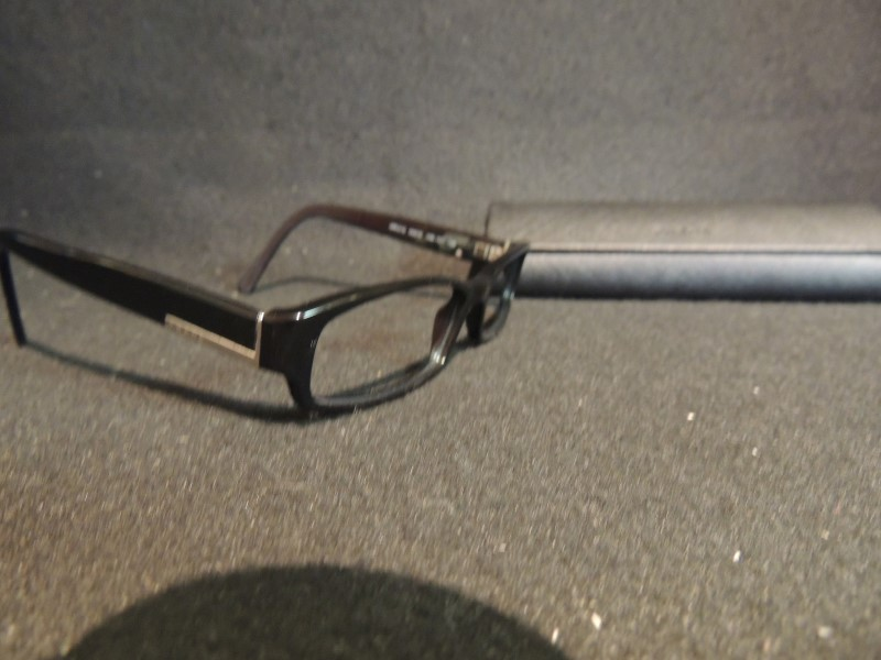 Prada Eyeglasses VPR21G Black Plastic 53-15 & Hard Prada Case Unisex
