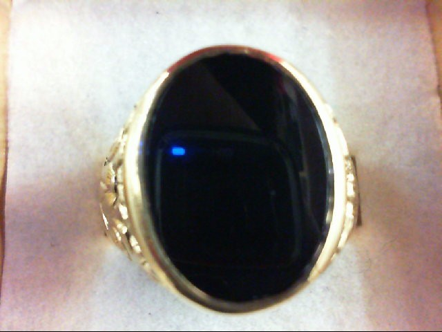 Gent's Gold Ring 14K Yellow Gold 10.6g Size:9.5