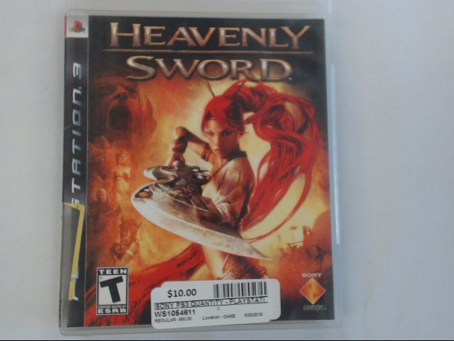 HEAVENLY SWORD - PS3 GAME