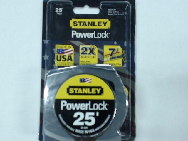 STANLEY Measuring Tool POWER LOCK 33-425 25'