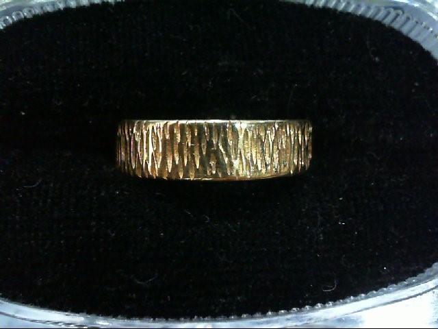 Lady's Gold Wedding Band 14K Yellow Gold 3.8g Size:6