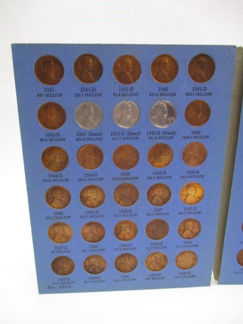 UNITED STATES LINCOLN HEAD CENT COLLECTION STARTING 1941