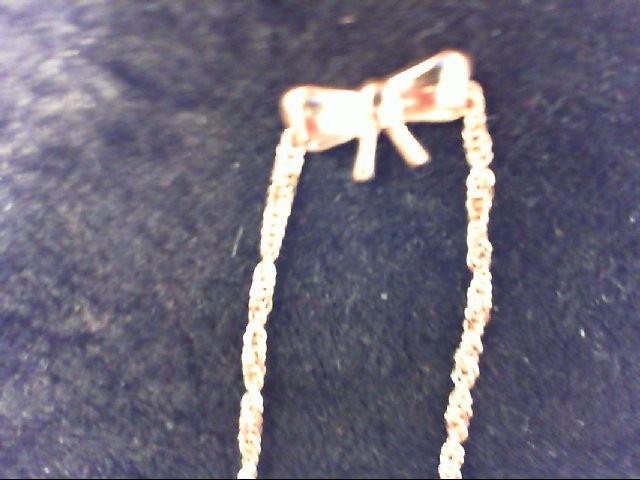 Gold Bracelet 14K Rose Gold 1.3g