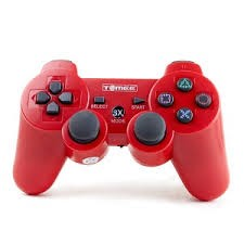 M05353RD, PS3 TOMEE SX-3 WIRELESS CONTROLLER RED