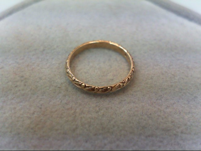Child's Gold Ring 10K Yellow Gold 0.4g