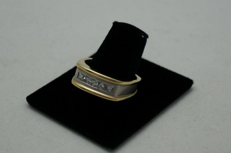 Gent's Platinum-Diamond Wedding Band 5 Diamonds .60 Carat T.W. 950 Platinum