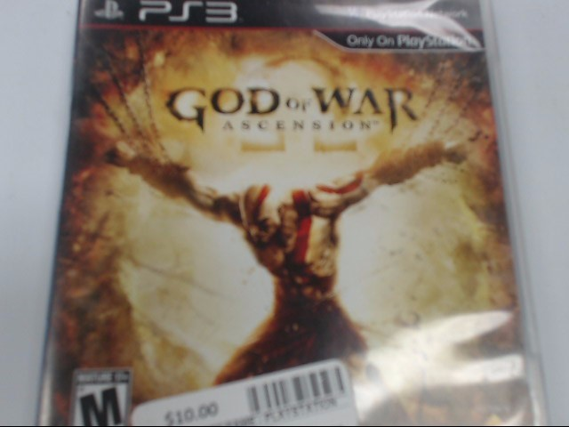 SONY PLAYSTATION 3 - GOD OF WAR ASCENSION