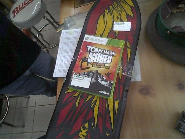 NINTENDO Video Game Accessory TONY HAWK RIDE