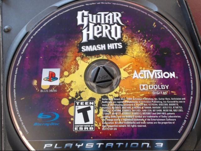 SONY PS3 GUITAR HERO SMASH HITS